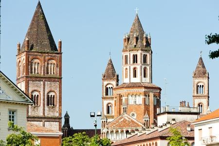piedmont: Basilica di SantAndrea, Vercelli, Piedmont, Italy