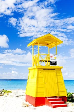 cabin on the beach, Enterprise Beach, Barbados, Caribbean photo