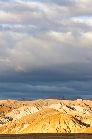 Artists Drive, Death Valley National Park, California, USA photo