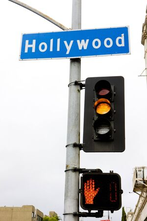 semaphore, Hollywood, Los Angeles, California, USA photo