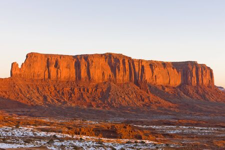 sentinel: Sentinel Mesa, Monument Valley National Park, Utah-Arizona, USA
