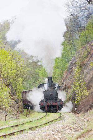 steam locomotive (126.014), Resavica, Serbia Stock Photo - 13184494