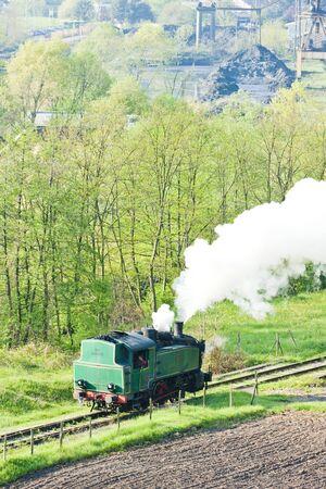 hercegovina: steam locomotive, Durdevik, Bosnia and Hercegovina