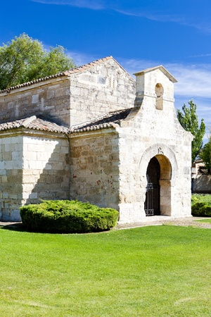 Church of San Juan Bautista, Banos de Cerrato, Castile and Leon, Spain