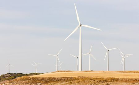wind turbines, Castile and Leon, Spain Stock Photo - 13183042