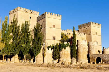 palencia province: Castle of Ampudia, Castile and Leon, Spain
