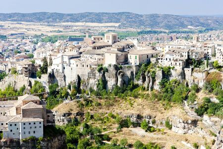 cuenca: Cuenca, Castile-La Mancha, Spain Stock Photo