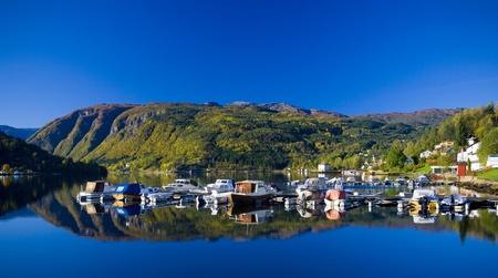 fjord Ulvik, Norway