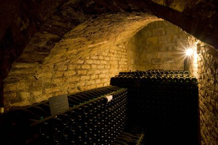champagne region: Janisson Baradon Champagne Winery, Epernay, Champagne Region, France Stock Photo