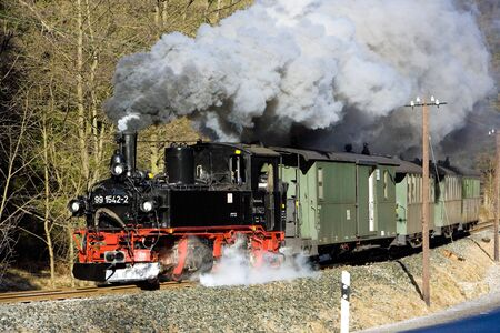 steam train, Steinbach - Johstadt, Germany Stock Photo - 13182477
