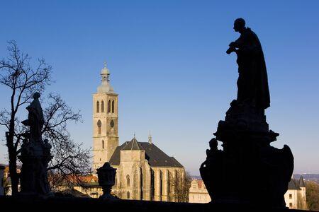 gothic build: Church of St. James, Kutna Hora, Czech Republic