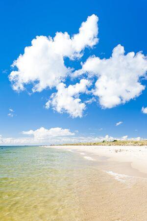 beach on Hel Peninsula, Pomerania, Poland Stock Photo - 13380064