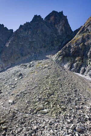 tatras tatry: surroundings of Priecne gap, Vysoke Tatry (High Tatras), Slovakia Stock Photo