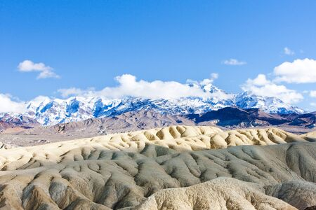 Zabriskie Point, Death Valley National Park, California, USA photo