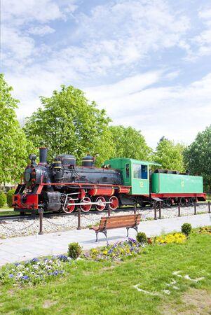 steam locomotive, Kostolac, Serbia Stock Photo - 13524392