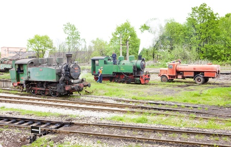 steam locomotives: steam locomotives, Kolubara, Serbia