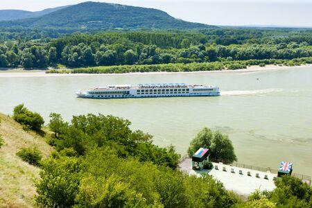 danuba: cruise ship oan Danuba River, Slovakia