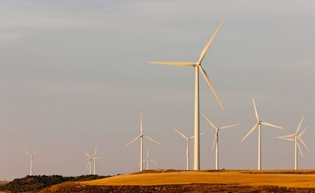 wind turbines, Castile and Leon, Spain Stock Photo - 13523500