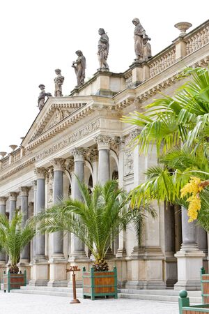 carlsbad: Mlynska Colonnade, Karlovy Vary (Carlsbad), Czech Republic