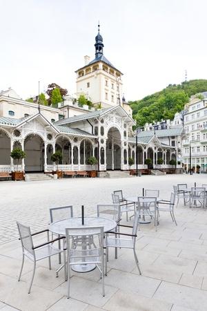 karlovy: Market Colonnade, Karlovy Vary (Carlsbad), Czech Republic