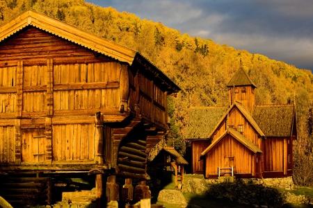 falltime: Uvdal Stavkirke, Norway