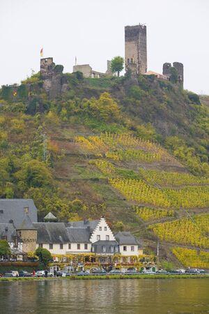 mosel: Beilstein, Rheinland Pfalz, Germany Editorial