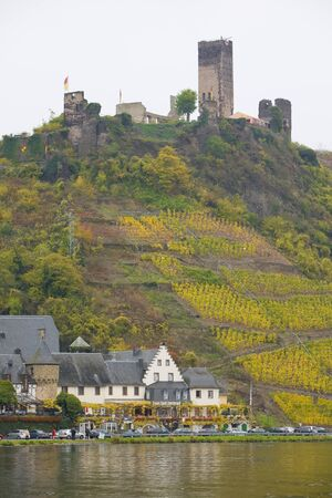 moseltal: Beilstein, Rheinland Pfalz, Germany Editorial