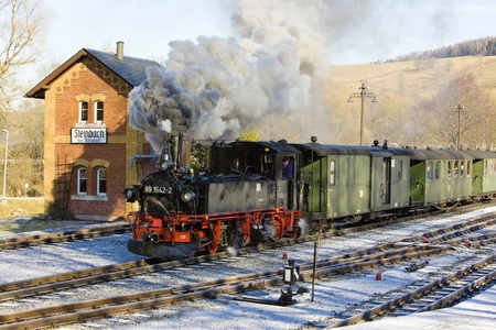 steam train, Steinbach - J�hstadt, Germany