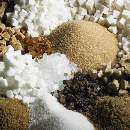 aliments: sugar still life