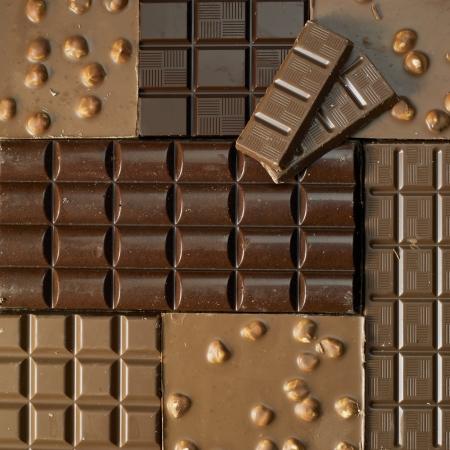 bodegones: barras de chocolate