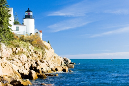seascapes: Bass Harbor Lighthouse, Maine, USA