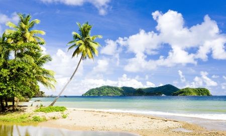Batteaux Bay, Tobago Stock Photo
