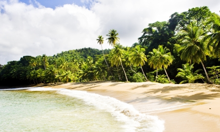 Englishmans Bay, Tobago Stock Photo