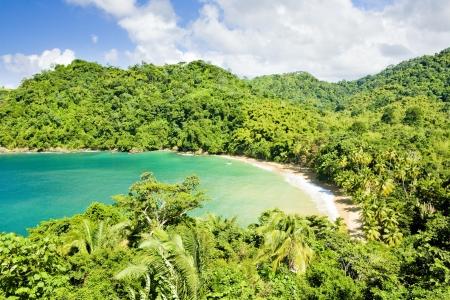 indies: Englishmans Bay, Tobago Stock Photo