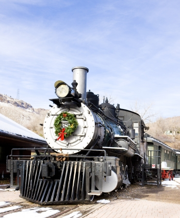 stem locomotive in Colorado Railroad Museum, USA Stock Photo - 15370776