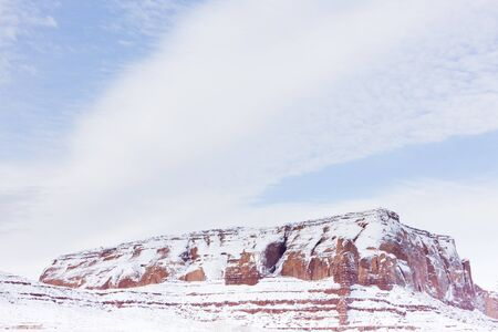 Monument Valley National Park in winter, Utah-Arizona, USA Stock Photo - 15374939