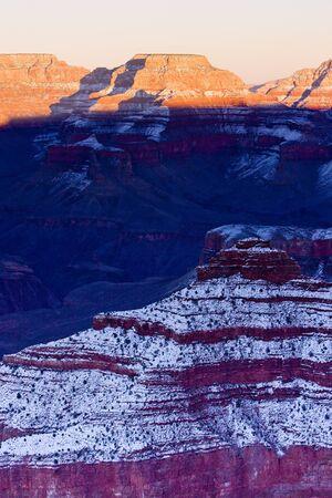 Grand Canyon National Park in winter, Arizona, USA Stock Photo - 15372631
