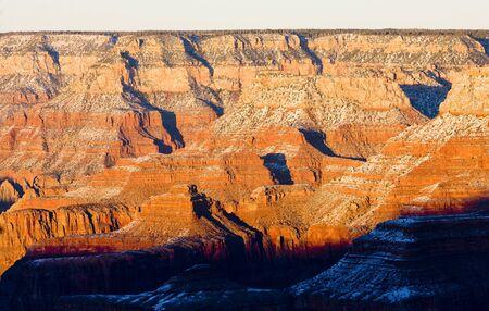 the silence of the world: Grand Canyon National Park, Arizona, USA Stock Photo