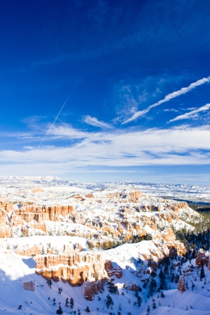 Bryce Canyon National Park in winter, Utah, USA Stock Photo - 15522795