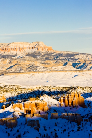 Bryce Canyon National Park in winter, Utah, USA Stock Photo - 15523152