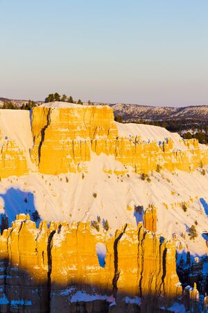 Bryce Canyon National Park in winter, Utah, USA Stock Photo - 15522652