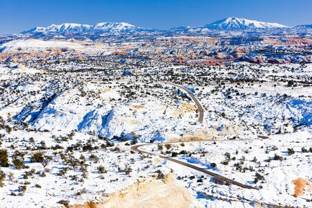 Upper Blues Overlook, Utah, USA Stock Photo - 15372891