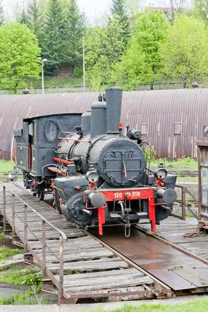 steam locomotive, Resavica, Serbia Stock Photo - 15372459