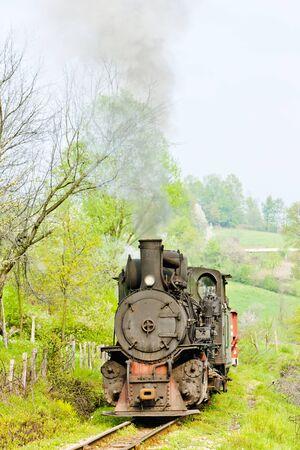 bosnia hercegovina: narrow gauge railway, Banovici, Bosnia and Hercegovina