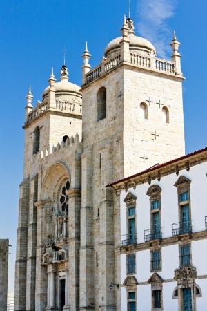 baixa: cathedral (Se), Porto, Portugal