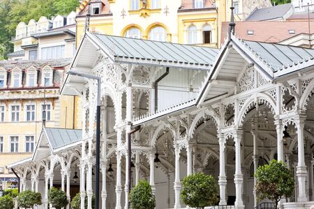 carlsbad: Market Colonnade, Karlovy Vary (Carlsbad), Czech Republic