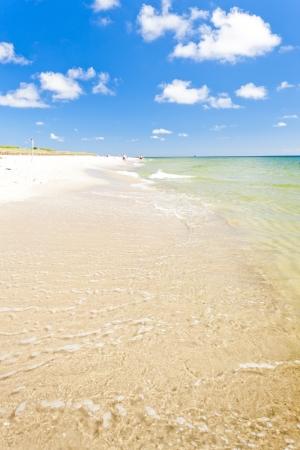 beach on Hel Peninsula, Pomerania, Poland photo