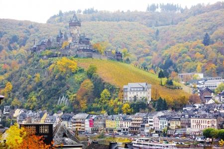 moseltal: Cochem, Rheinland Pfalz, Germany