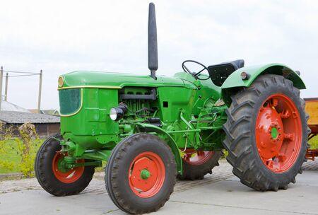 noord: tractor, Noord Holland, Netherlands Stock Photo