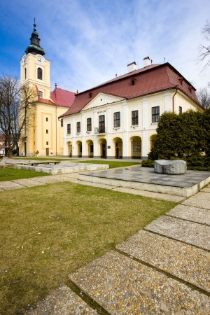 guildhall: town hall with museum, Brezno, Slovakia